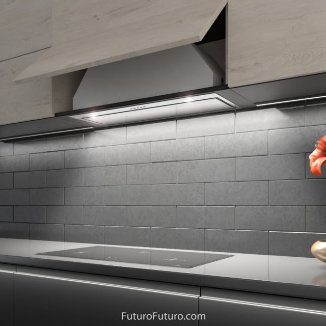 luxury recirculating range hood | Under cabinet range hood