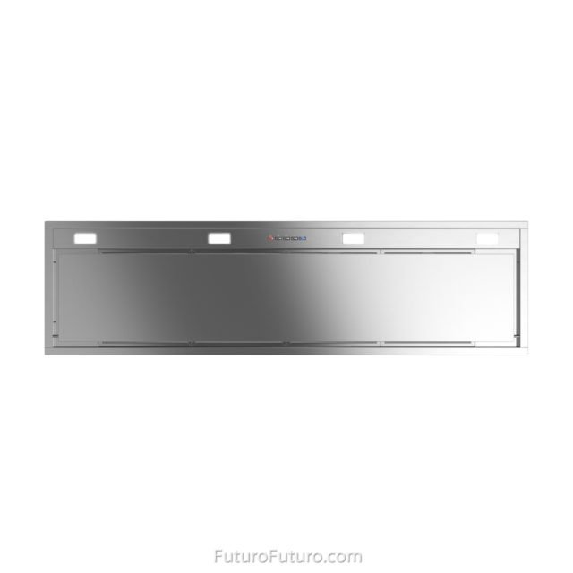 Highest-grade AISI 304 stainless steel kitchen range hood | stainless steel kitchen hood vent