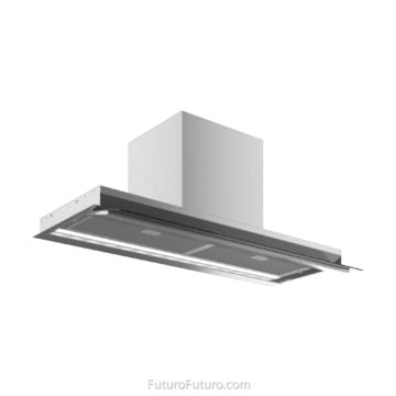 induction cooktop range hood | under cabinet wall mount range hood