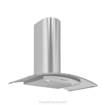 36 inch wall mount range hood | stainless steel kitchen hood