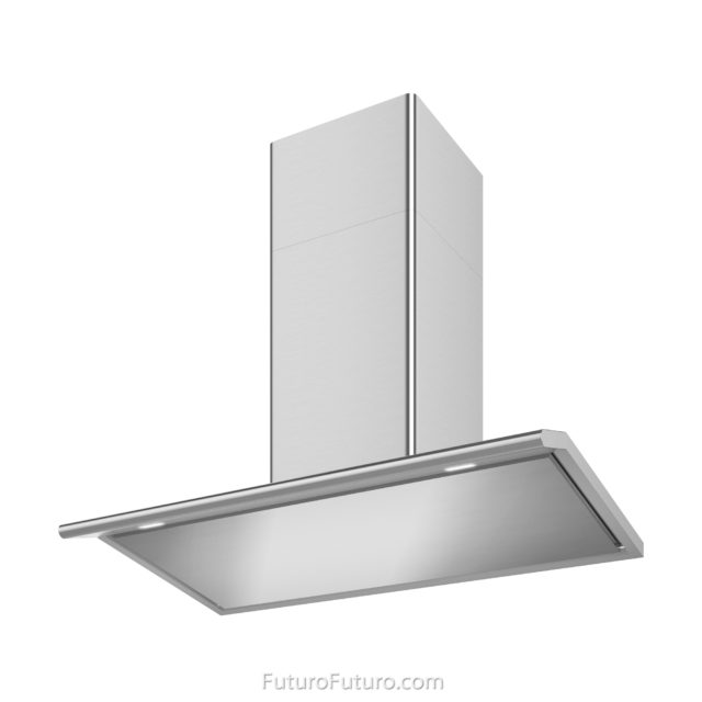 Ultra-quiet 940 CFM ductless range hood | LED lights kitchen fan | Stainless Steel Exhaust Hood