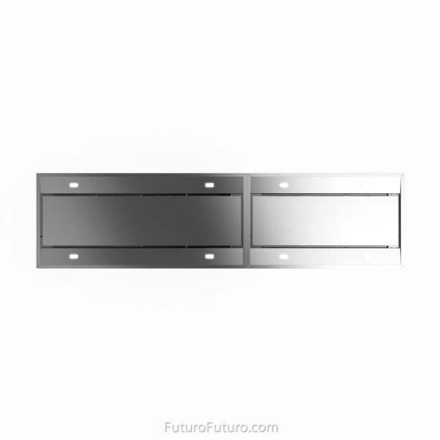 Stainless steel range hood | Stainless steel designer filters cover