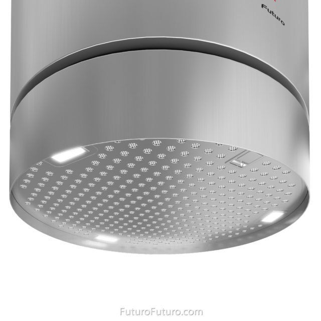 dishwasher safe metal mesh grease filters range hood | circular island range hood