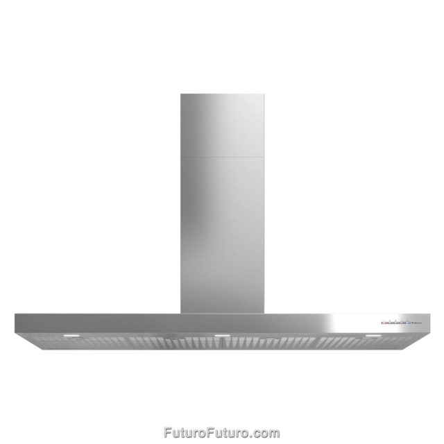 Stainless steel ducted range hood | Powerful kitchen exhaust fan