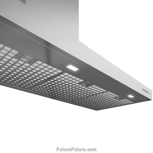 AISI 304 stainless steel range hood | Stainless steel range hood filter