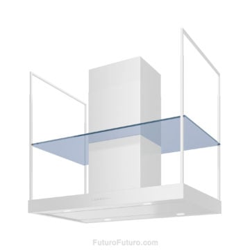 Glass Panel For 36 inch Europe Range Hood