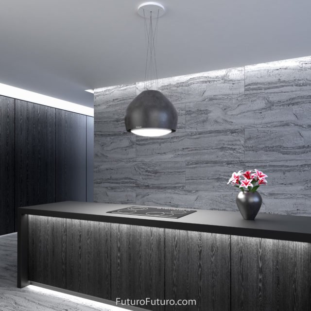 Kitchen lights island range hood | Under cabinet lightning island vent hood