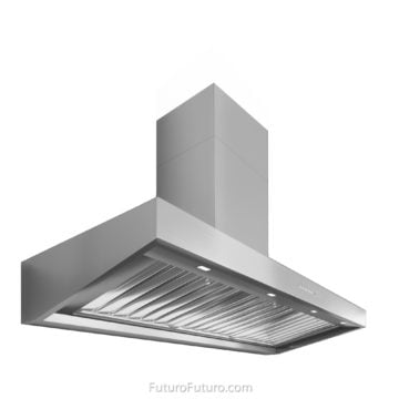 Luxury wall mount range hood | Stainless steel vent hood