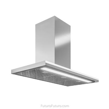 Polished kitchen cabinets stainless steel range hood | Best range hoods