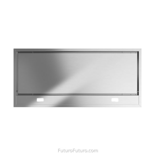 ductless range hood | stainless steel kitchen fan