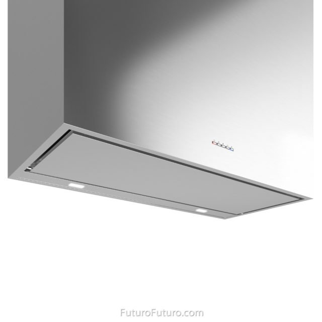 perimeter filter vent hood | LED illuminated kitchen exhaust fan