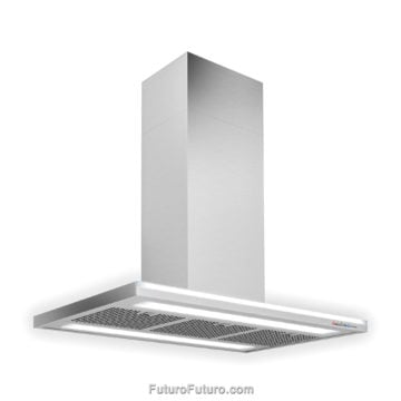 Stainless Steel Kitchen Hood | Contemporary range hood