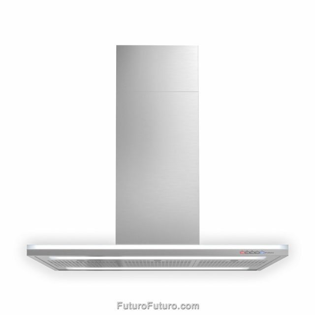 Designer ducted range hood | High quality stainless steel range hood
