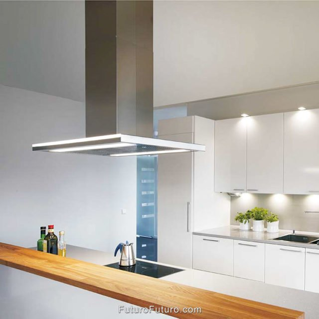 White kitchen best range hoods | Designer kitchen hood vent