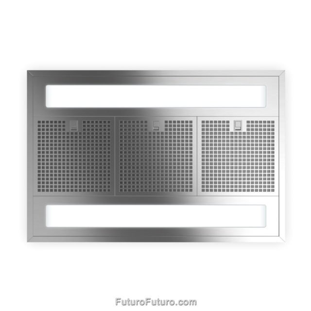 Stainless steel range hood | Stainless steel designer grease filters kitchen fan