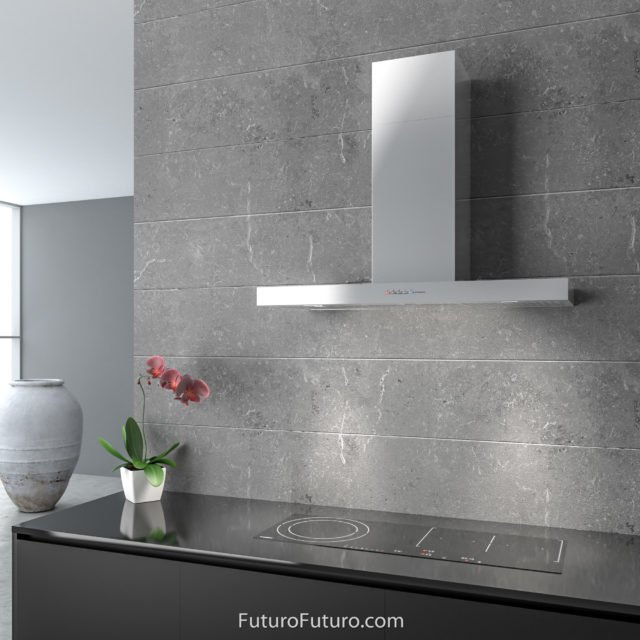 Designer kitchen range hood | Glossy kitchen vent hood