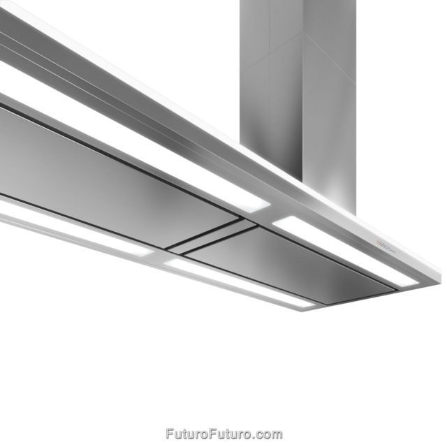 Kitchen exhaust hood | AISI 304 Stainless steel range hood