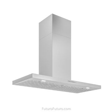 Modern kitchen stainless Steel Range Hood | High grade stainless steel hood