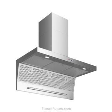 Quartz countertops kitchen hood vent | Italian best range hoods