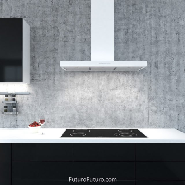 Modern kitchen exhaust fan | Contemporary range hood